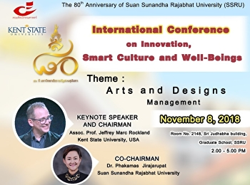 International conference on Innovation, Smart Culture and Well-Being