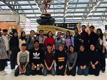 Representative from the performing arts department (Thai Classical Dance) Travel to Nanning City, China