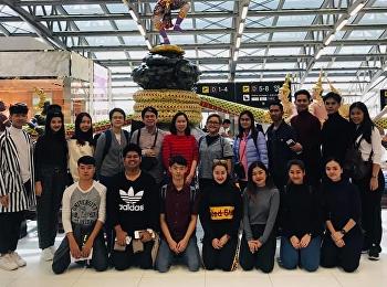 ตัวแทนจากสาขาวิชาศิลปะการแสดง (นาฏศิลป์ไทย) เดินทางไปเมืองหนานหนิง ประเทศจีน