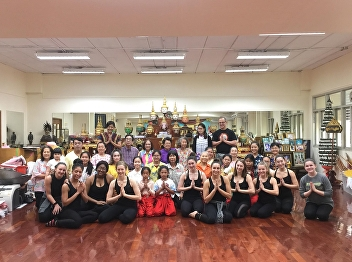 New Year's activities of the community dance project, year 2019