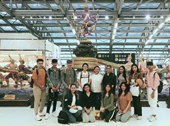นาฏศิลป์ไทยสวนสุนันทากำลังเดินทางไปแสดงนาฏศิลป์ไทยที่ Jordan